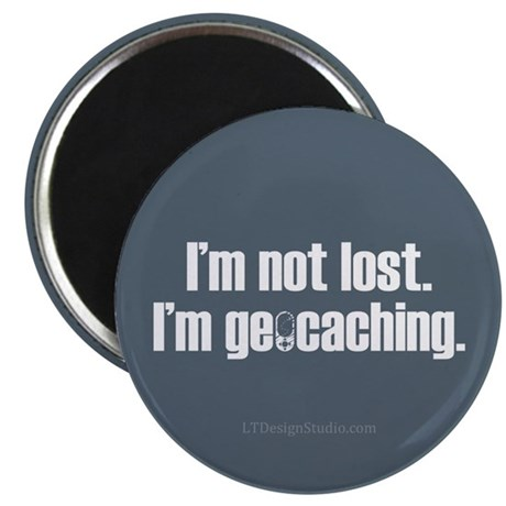 "I'm Not Lost 2.25"" Magnet (10 pack)"
