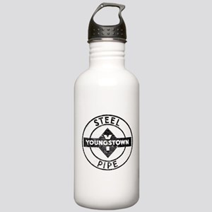 Youngstown Steel Pipe Stainless Water Bottle 1.0L