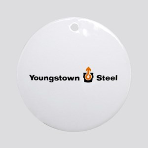 Youngstown Steel Ornament (Round)
