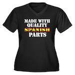 Quality Spanish Parts Women's Plus Size V-Neck Dar
