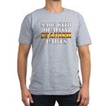 Quality Spanish Parts Men's Fitted T-Shirt (dark)