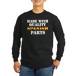 Quality Spanish Parts Long Sleeve Dark T-Shirt