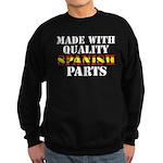 Quality Spanish Parts Sweatshirt (dark)