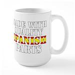 Quality Spanish Parts Large Mug