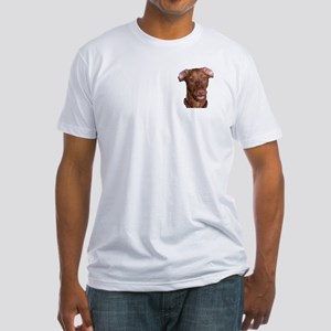 Silly Vizsla Smile Fitted T-Shirt
