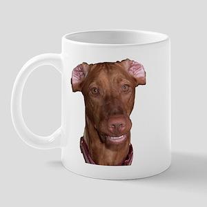 Silly Vizsla Smile Mug