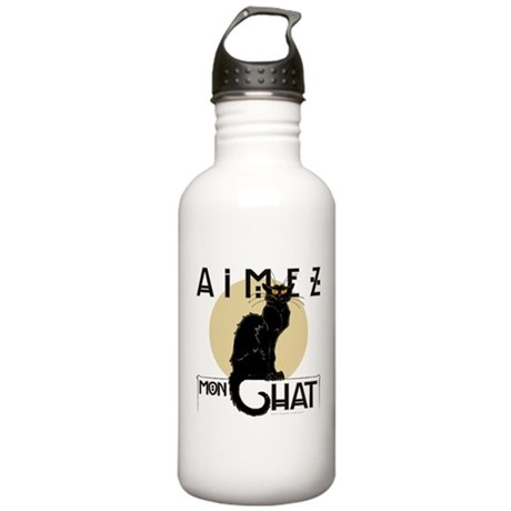Love My Cat Stainless Water Bottle 1.0L