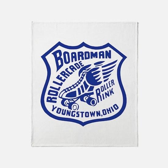 Boardman Rollercade Throw Blanket