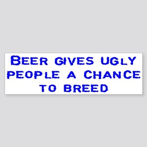 """Beer"" Bumper Sticker"