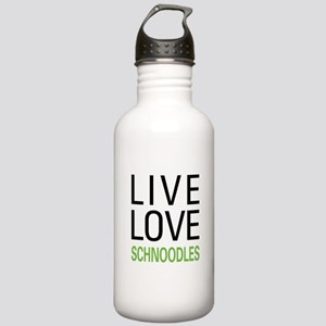 Live Love Schnoodles Stainless Water Bottle 1.0L