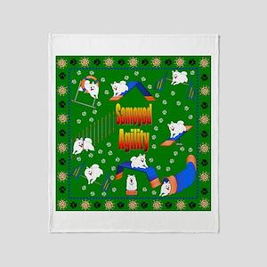Samoyed Throw Blanket