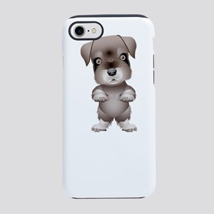 Cute funny dog and puppy iPhone 7 Tough Case