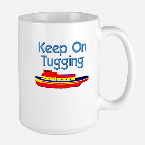 Tugboat Tug Large Mug