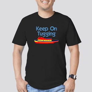 Tugboat Tug Men's Fitted T-Shirt (dark)