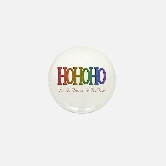 Funny Gay flag Mini Button