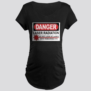 Laser Maternity Dark T-Shirt