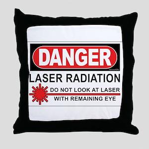 Laser Throw Pillow