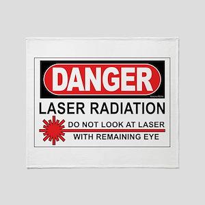 Laser Throw Blanket