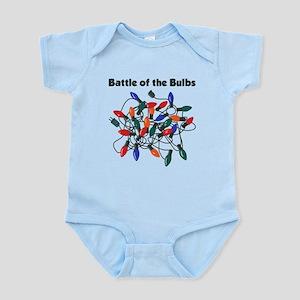 """""""Battle of the Bulbs"""" Infant Bodysuit"""