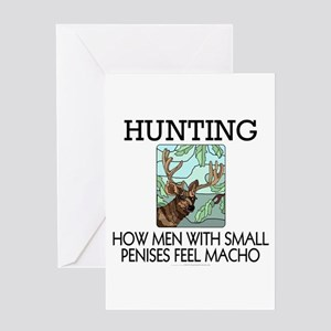 Hunting: How men... Greeting Card