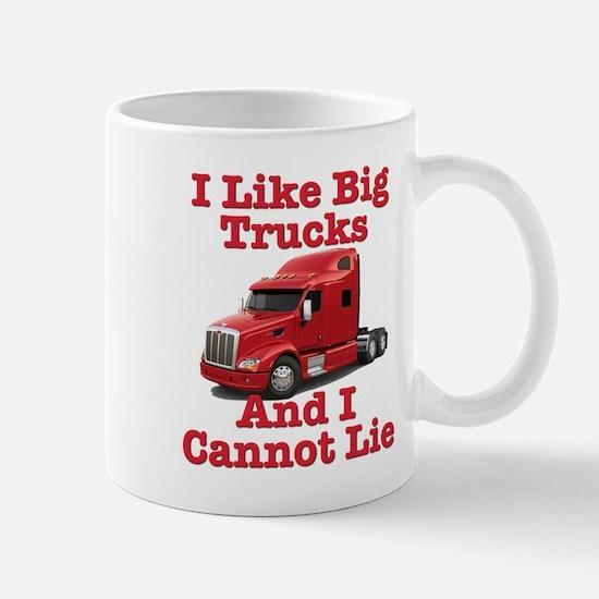I Like Big Trucks Peterbilt Mug