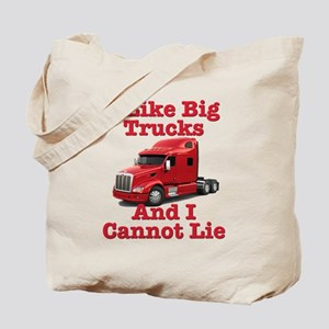 I Like Big Trucks Peterbilt Tote Bag