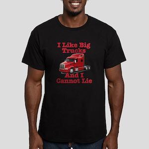 I Like Big Trucks Peterbilt Men's Fitted T-Shirt (