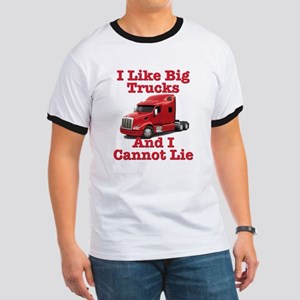 I Like Big Trucks Peterbilt Ringer T