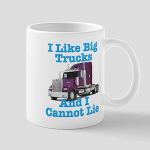 I Like Big Trucks Western Star Mug