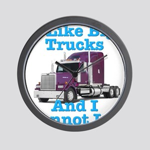 I Like Big Trucks Western Star Wall Clock