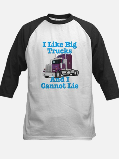 I Like Big Trucks Western Star Kids Baseball Jerse