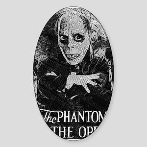 Phantom of the Opera Sticker (Oval)