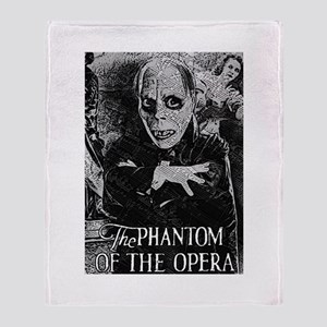 Phantom of the Opera Throw Blanket