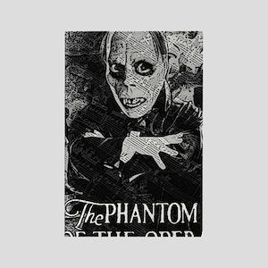 Phantom of the Opera Rectangle Magnet