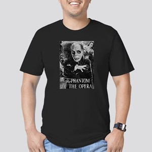 Phantom of the Opera Men's Fitted T-Shirt (dark)