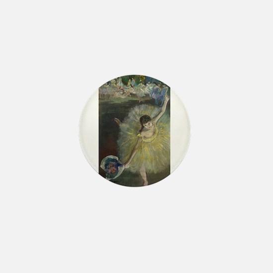 Cool Edgar degas Mini Button