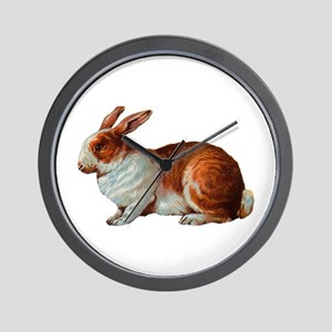 Pet Rabbit Wall Clock