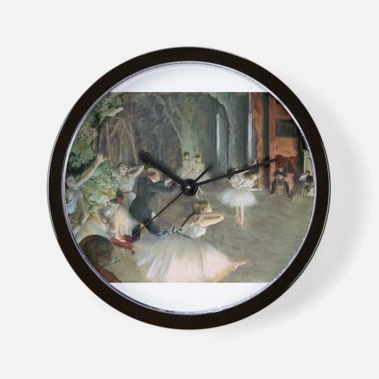 Funny Tutu Wall Clock