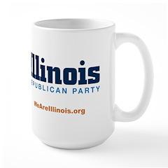 Illinois GOP Large Mug