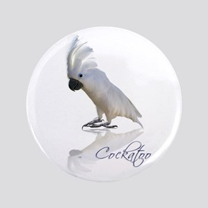 "cockatoo 3.5"" Button"