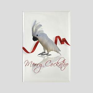 merry cockatoo Rectangle Magnet
