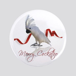 "merry cockatoo 3.5"" Button"