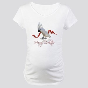 merry cockatoo Maternity T-Shirt