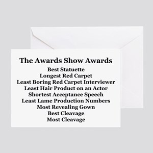 Awards Show Awards Greeting Card