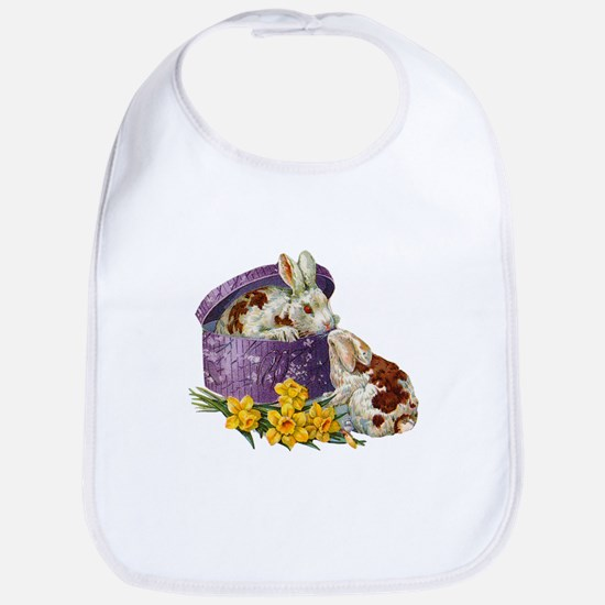 Easter Bunnies Bib