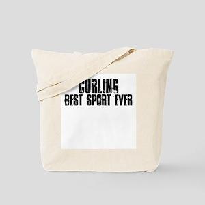 Curling-Best Sport Ever Tote Bag