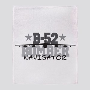 B-52 Aviation Navigator Throw Blanket