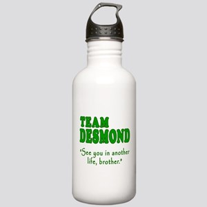 TEAM DESMOND with Quote Stainless Water Bottle 1.0