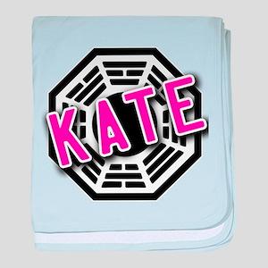 KATE Dharma Logo from LOST baby blanket