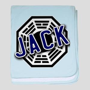 Jack Dharma Logo from LOST baby blanket